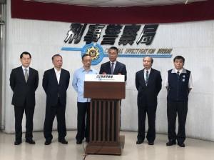 警查獲大批空氣槍 內政部長徐國勇到場強調拚治安