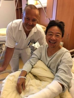 「完全沒有紅腫」張正傑手術順利 1個月後可拉琴