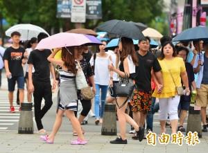 颱風外圍環流影響全台有雨!又有熱帶性低氣壓發展