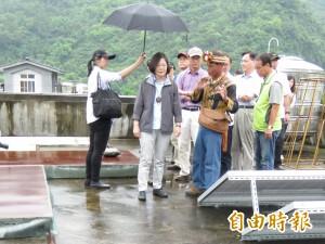 訪達魯瑪克部落綠能發電 蔡英文盛讚「台灣最進步的地方」