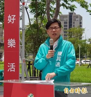 陳其邁勸國民黨 別把高市長選舉當2年後總統造勢