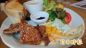天天吃好料》台南是吉咖啡館 隱身巷弄分享私房菜