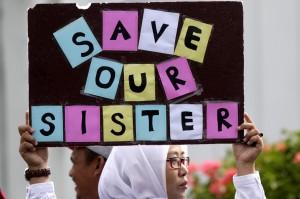 遭哥哥強姦8次 法院竟判印尼少女坐牢6個月