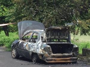 竹田火燒車 發現一具焦屍