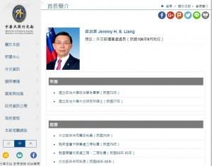 陳經銓返台治療 梁洪昇接駐史瓦帝尼大使