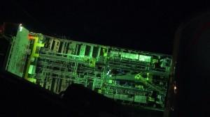 3外籍船員遭化學液體濺傷眼睛  空軍救護隊深夜馳援