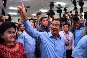 柬埔寨國會大選 掌權33年獨裁總理韓森大勝