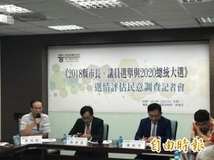 2020總統大選 新台灣國策智庫民調:賴清德贏面大於蔡英文
