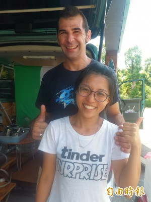 義籍台灣女婿 用另類咖啡攤車旅行台灣