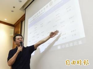 互別苗頭?  國民黨在竹縣開中常會、林為洲公布領先民調