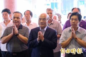 國民黨推重啟核四    蘇貞昌:侯友宜支持與否要說清楚