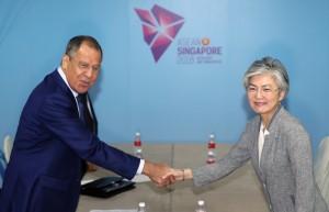 南韓、俄羅斯外長「閉門會談」 外界猜測話題圍繞北韓