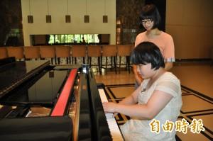 全盲總統教育獎得主蔡旻諼 戰勝腦瘤辦鋼琴獨奏會!