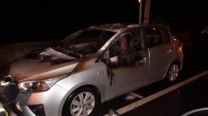 彰化火燒車驚見駕駛座上焦屍 性別與身分待查