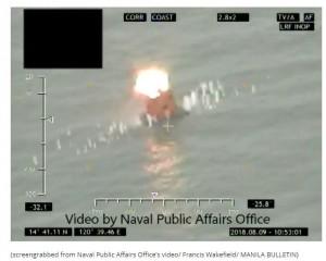 菲律賓海軍也有飛彈了 首套飛彈系統試射成功