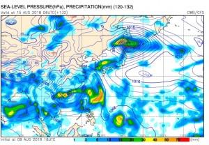 下週熱帶系統恐伴隨西南氣流 專家:對台有極大威脅