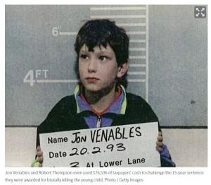 英國最年輕殺手出獄隱名又犯案 受害家屬要求公開身分