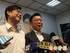 韓國瑜在台北公布設發言人 陳其邁競辦:以為選北市長