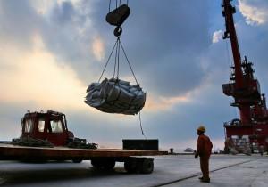 中國向美國低頭 讓裝載黃豆的貨船進口卸貨
