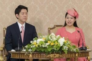 日本絢子公主訂婚! 10月降嫁平民脫離皇室