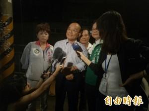 9死大火之後民政局長臉書直播美食 蘇貞昌:這樣不好