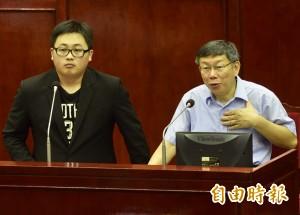 國安講稿新聞施壓疑雲 北市府發言人道歉了