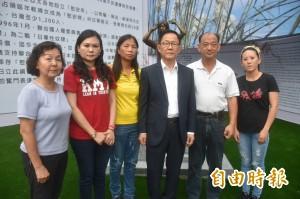 赴台南向慰安婦銅像致意 丁守中:台北也要設立