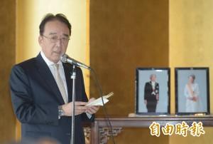 表達日本政府對慰安婦議題立場 沼田幹夫拜會馬英九