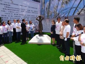 馬英九參加慰安婦銅像揭幕!沼田幹夫拜會 吳敦義這樣說…