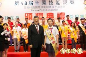 美容金牌選手蔡竹信 苦練挑戰國際賽