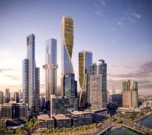 墨爾本將興建澳洲最高大樓 比101矮了那麼多...