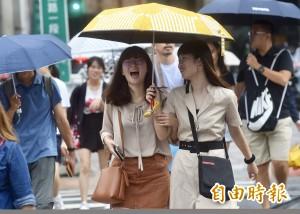 中南部上半天恐有大雨 各地留意午後強降雨