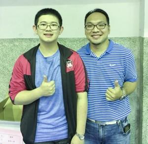 39秒快速解題 楊朝翔奪台灣高中數學競賽冠軍