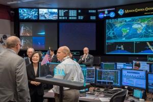 訪NASA 小英總統:從天空中可以俯視台灣美麗的燈火
