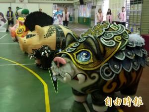 竹縣義民祭彩繪神豬   首辦國際友誼賽