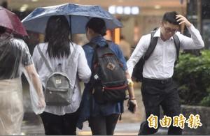 出門帶雨具!明天全台午後有雨 慎防短時強陣雨