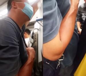 台鐵區間車驚見「摩鳥狼」 趁擁擠用下體頂女臀