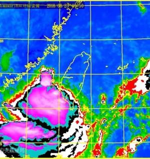 強降雨由市區往北、山區擴散    李孟諺PO文提醒