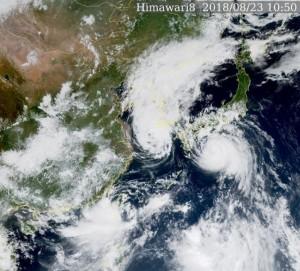蘇力颱風不斷北上 南韓全境料將傳重大災情