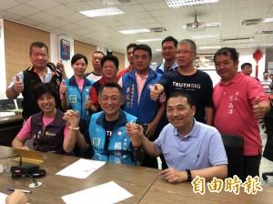 侯友宜跨海為楊鎮浯助陣 為雙城合作預鑄計畫