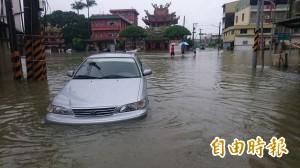 823淹水受災車輛 報廢或註銷牌照「免收規費」