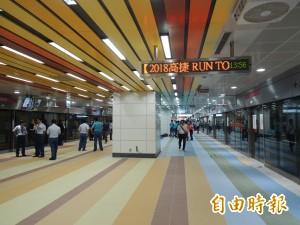 高捷高雄車站永久站9/5啟用 進出口與路徑有變動