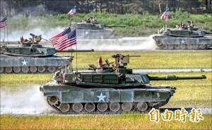說好的M1A2戰車呢? 軍方明年度預算項目未見