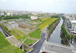改善梧棲大排水質 海線首座水質淨化場啟用