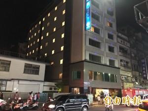 基隆柯達飯店火警 2住客提水滅火急阻延燒