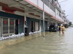 十二佃大淹水 台江NGO質疑新吉工業區滯洪池設計不良