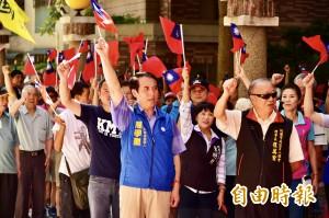 慶祝九三軍人節 陳學聖:把鄭文燦擊倒,小英才會徹底道歉