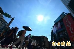 週二高溫36度、紫外線強  燕子颱風最快明天登陸日本