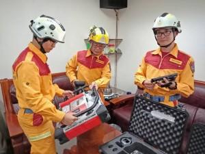 馳援北海道救災 基隆消防局國際人道救援隊集結待命