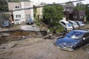 日本北海道凌晨規模6.7強震 大規模停電、建築物倒塌